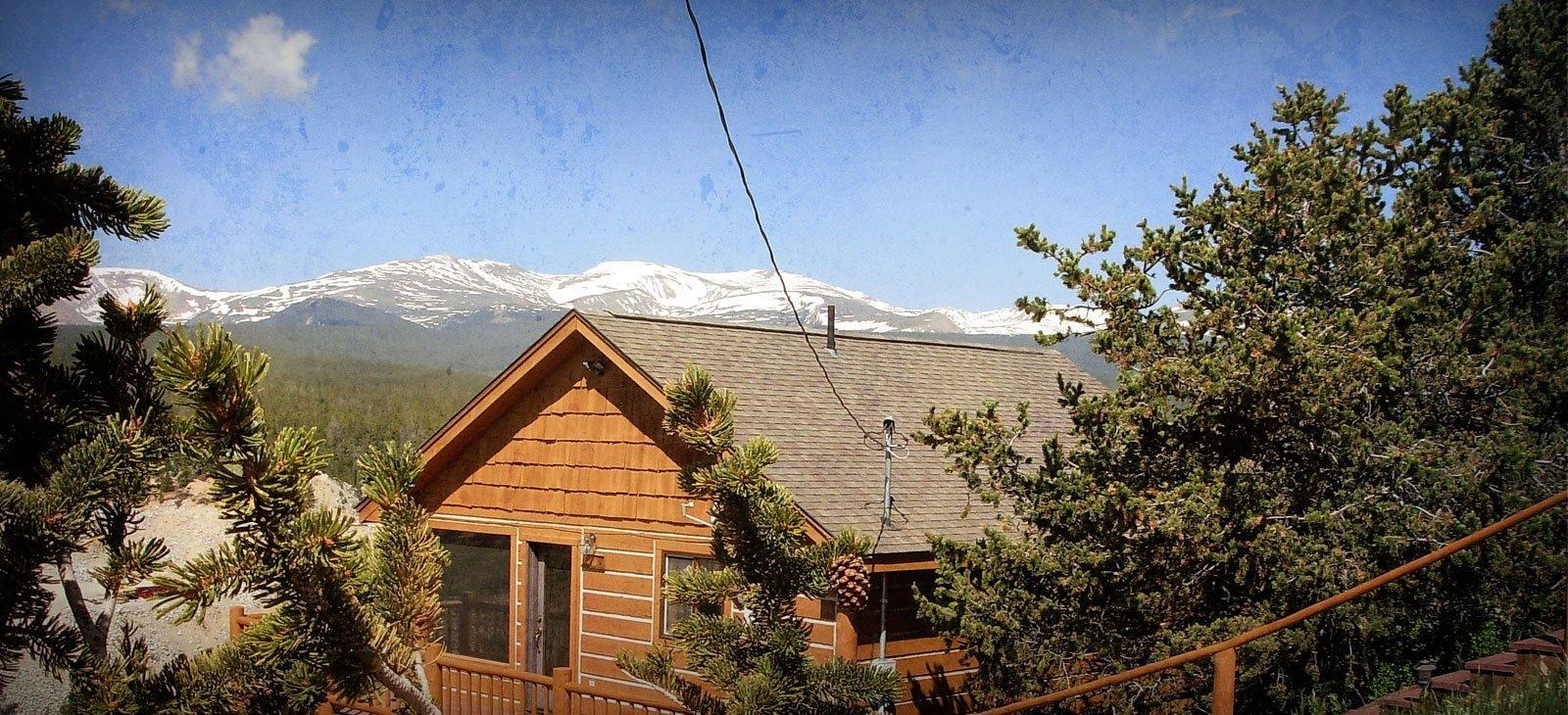 Colorado mountain houses