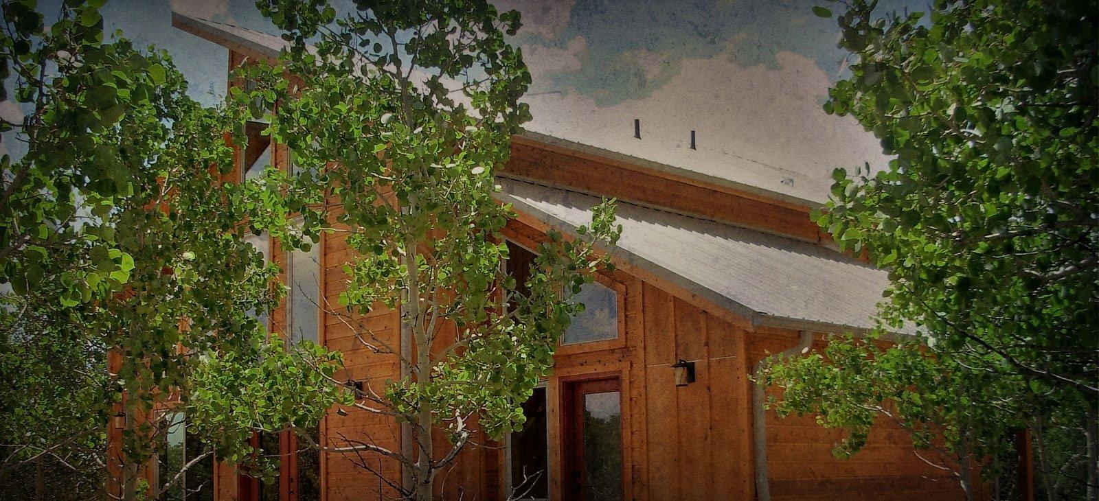 Colorado timber frame homes