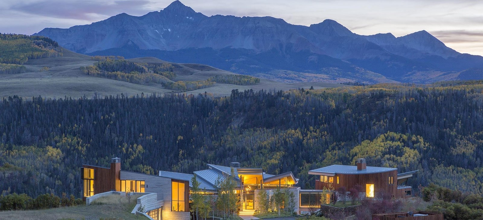Luxury mountain houses in Colorado